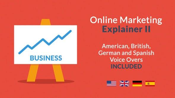 Videohive Online Marketing Explainer II 8830526