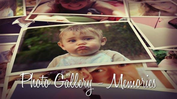 Videohive Photo Gallery Memories 8693944