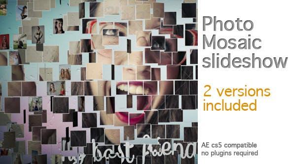 Videohive Photo Mosaic Slideshow 8100586