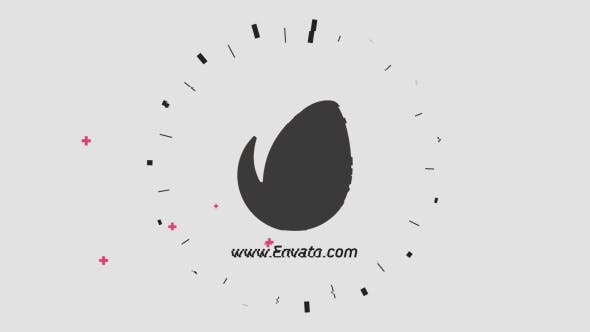 Videohive Flat Glitch Logo Reveal 15559651