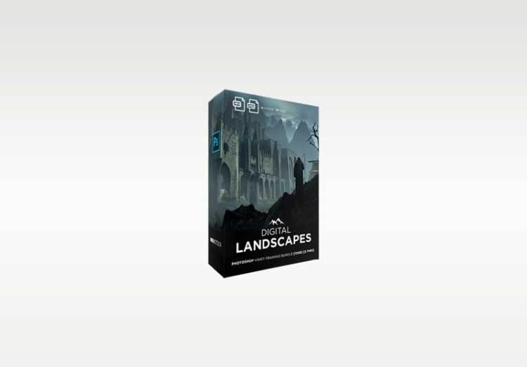 Neo Stock Digital Landscapes Photoshop Video Training