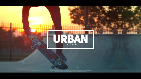 Videohive Urban Intro 19746928