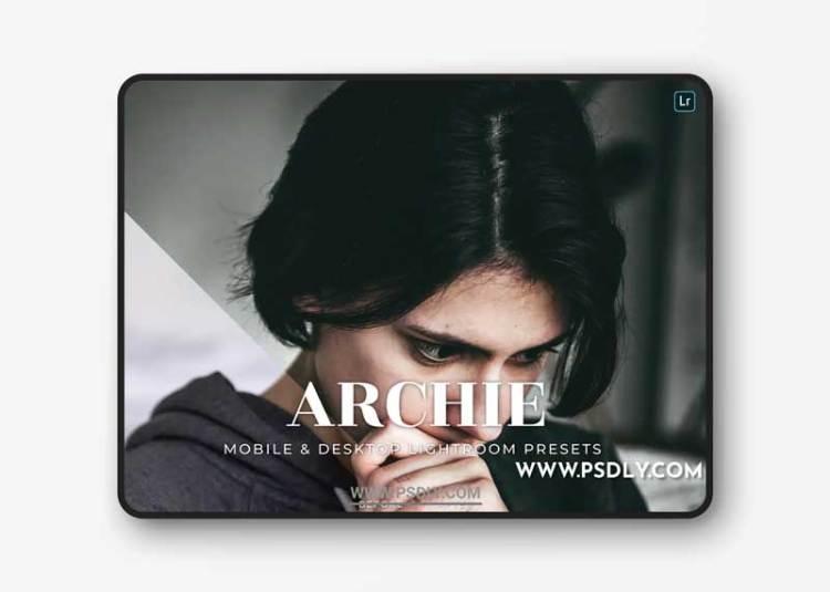 Archie Mobile and Desktop Lightroom Presets