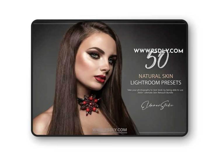 50 Natural Skin Lightroom Presets