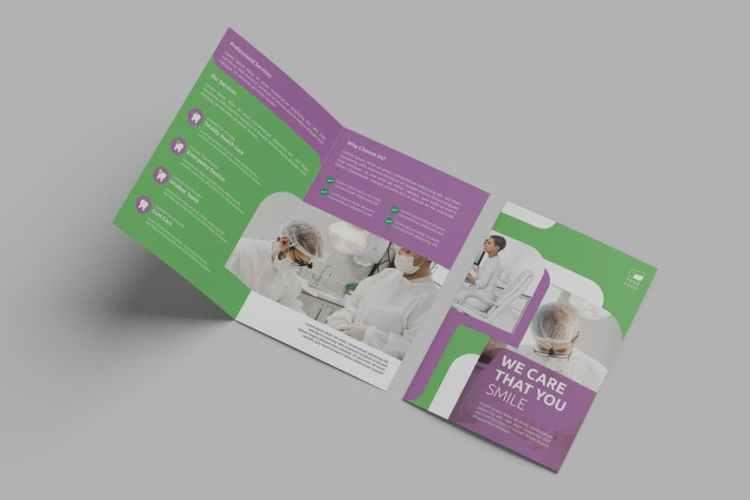 Dentist Clinic – Bifold Brochure