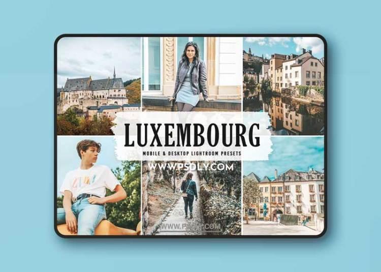CreativeMarket - Luxembourg Pro Lightroom Presets 6284041