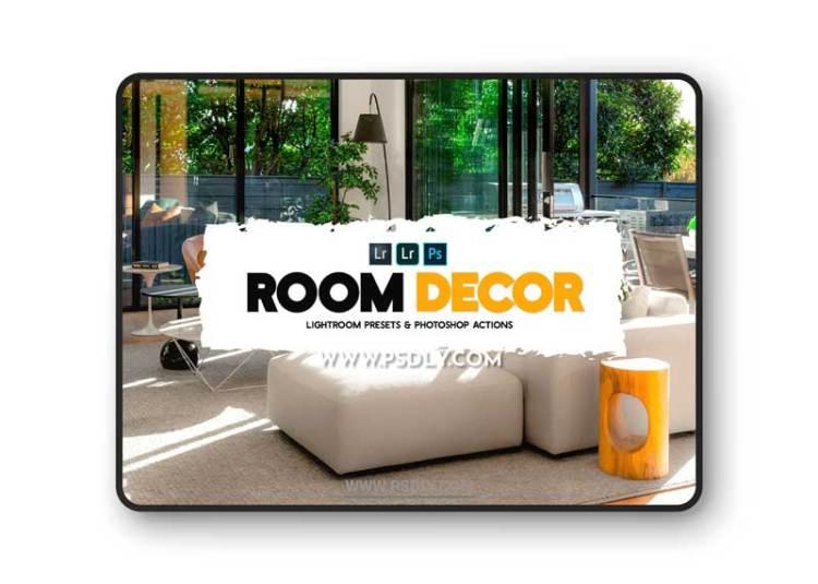 CreativeMarket - Room Decor Presets & Actions 6225933