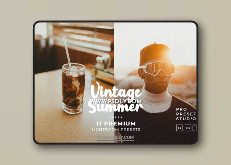 CreativeMarket - Vintage Summers Presets Lightroom 6220404
