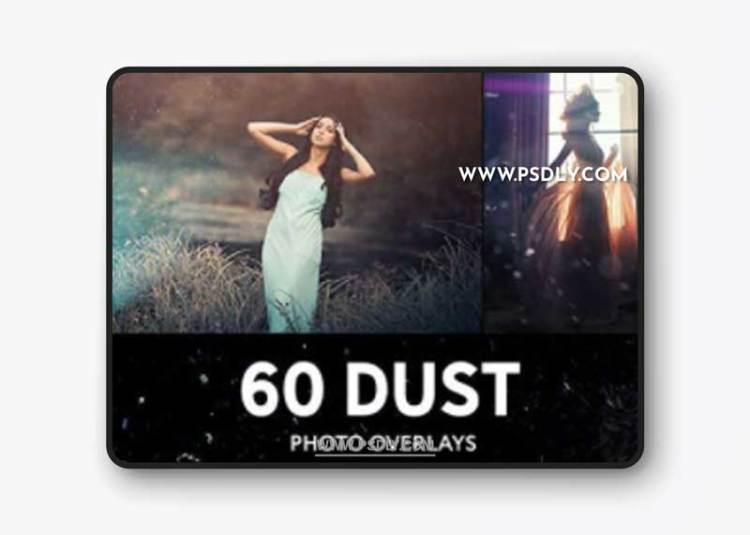 GraphicRiver - 60 Floating Dust Photo Overlays 27795200