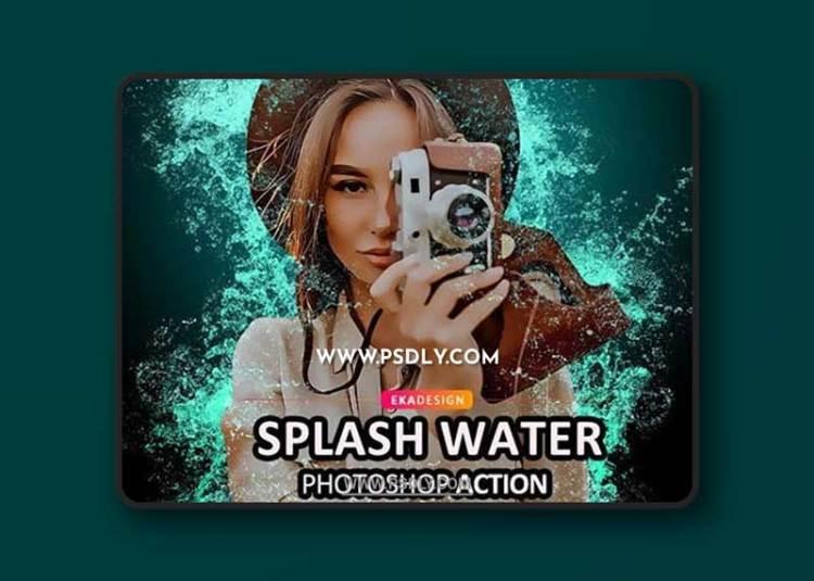 GraphicRiver - Splash Water Photoshop Action 32002844