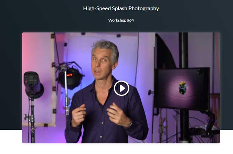 Hi speed Splash Photography Workshop