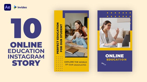 Videohive Online Education Instagram Story 32928403