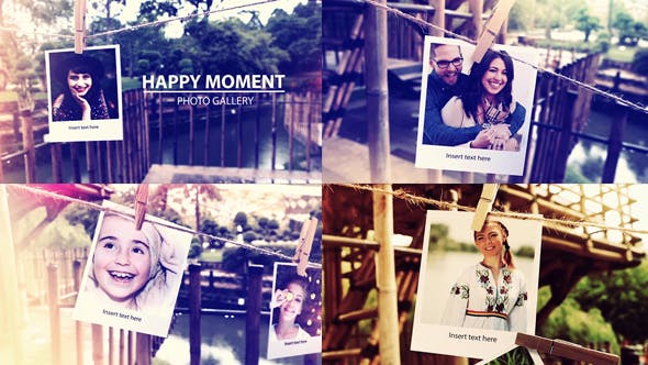 Videohive Photo Gallery On The Afternoon 19647251