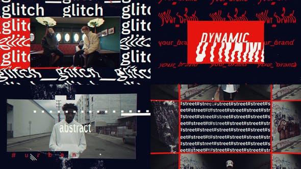 Videohive Glitch Urban Opener 25568577