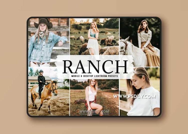 Ranch Mobile & Desktop Lightroom Presets