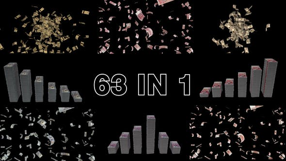 Videohive Money Elements Pack 32183975