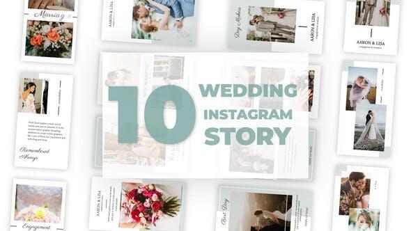 Videohive Wedding Instagram Story 33040851