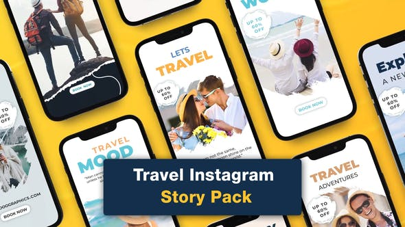 Videohive Travel Instagram Story Pack 32927665
