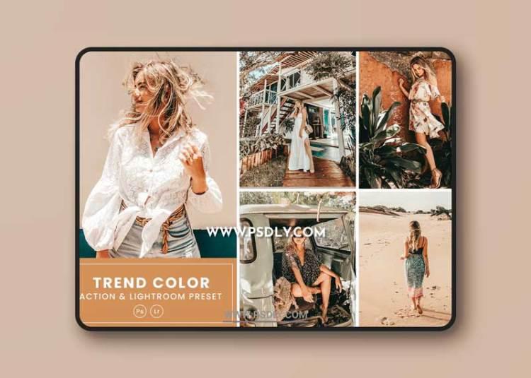 Trend Color Action & Lightrom Presets