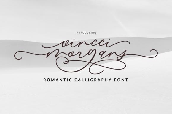 Vincci Morgans Script Font