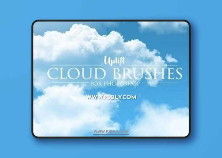 30 Cloud Photoshop Brushes