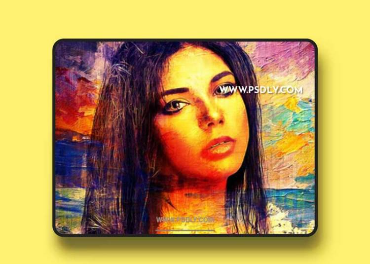 GraphicRiver - Painting Photoshop Mockup 32824265