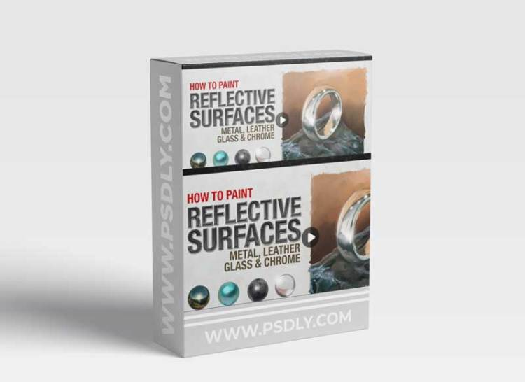 How to Paint Reflective Surfaces - Metal, Leather, Glass and Chrome