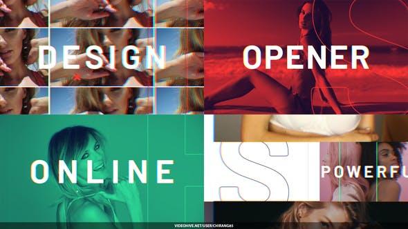Videohive Fashion Dynamic Opener 29733794