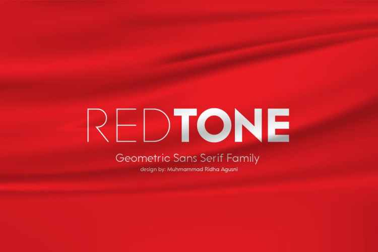 Redtone font