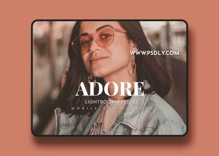 Adore Lightroom Presets Dekstop and Mobile