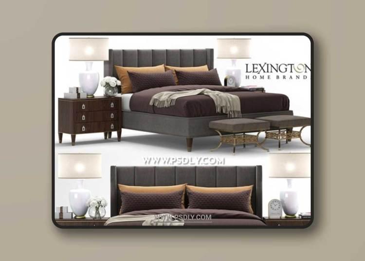 Bed Barrington, Lexington 3D Models