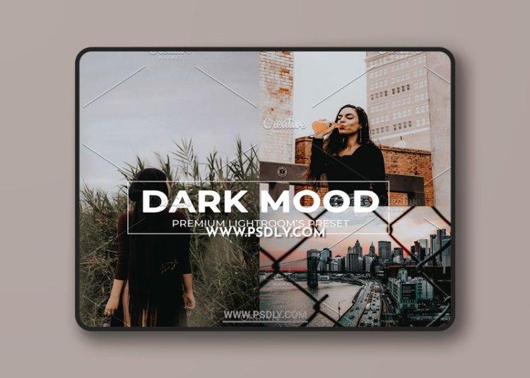 CreativeMarket - Dark Mood Lightroom Preset 6364149