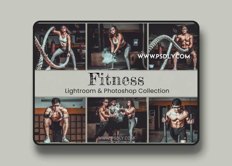 CreativeMarket - Fitness Lightroom Presets Photoshop 6470134