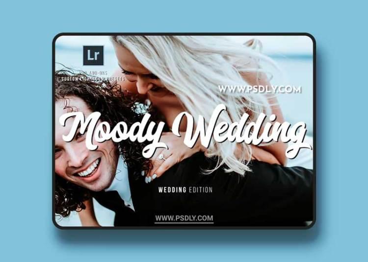 CreativeMarket - Moody Wedding Lightroom Presets 2582868
