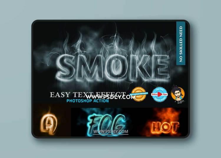 CreativeMarket - Smoke Text Effect Plugin 6399754