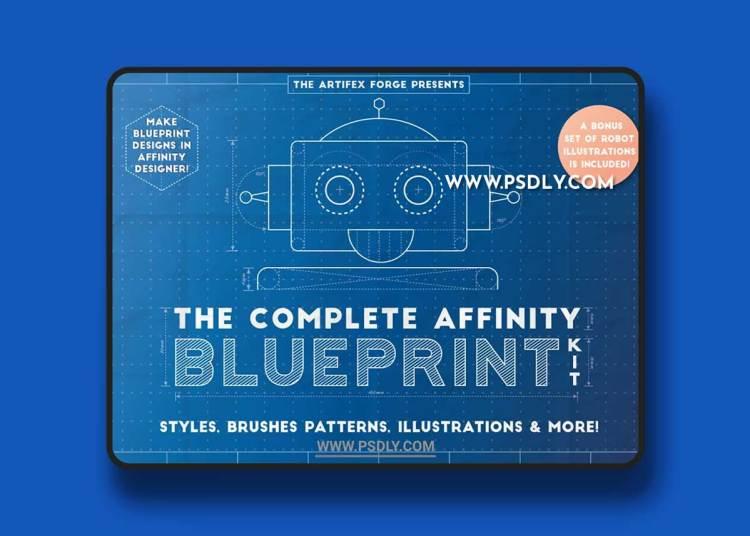 CreativeMarket - The Complete Affinity Blueprint Kit 5960372
