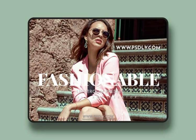 Fashionable Lightroom Presets Dekstop and Mobile