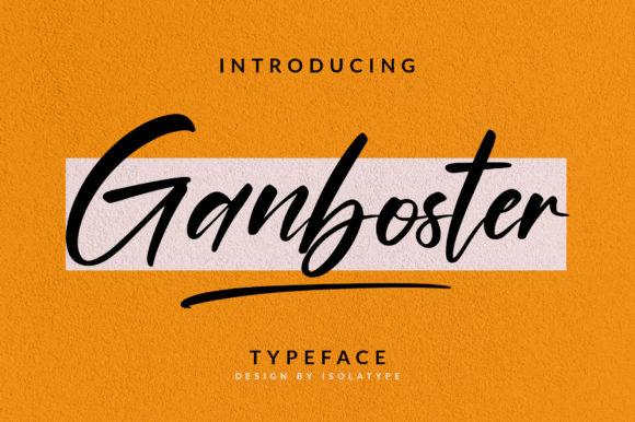 Ganboster Font