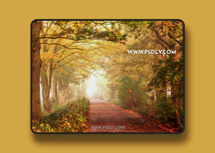 GraphicRiver - 10 Oil Painting Photoshop Action 22851047