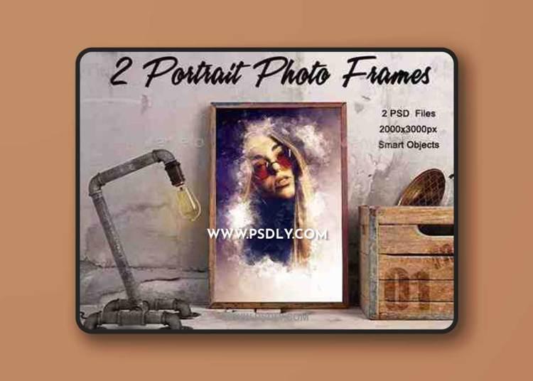 GraphicRiver - 2 Portrait Photo Frames 23153234