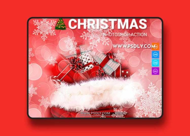GraphicRiver - Christmas Photoshop Action 21137886