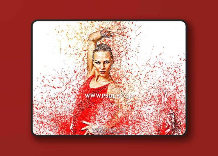 GraphicRiver - Paint Splashes Photoshop Action 23153270