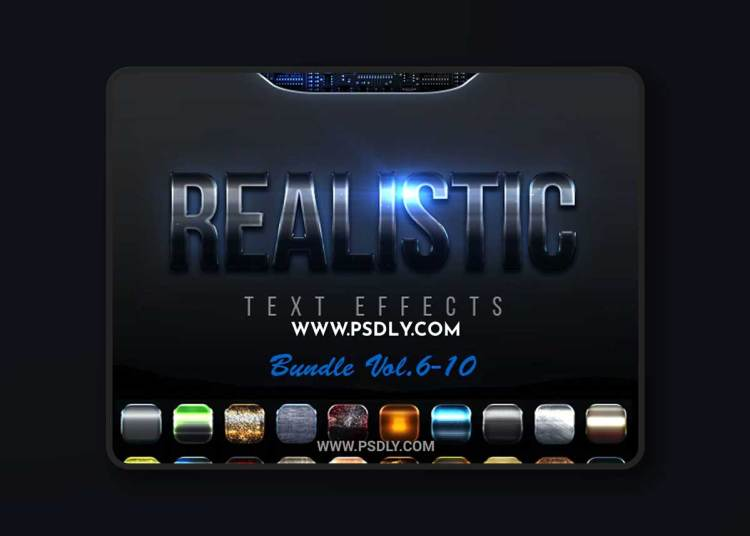 GraphicRiver - Realistic Text Effects Bundle II 23151194