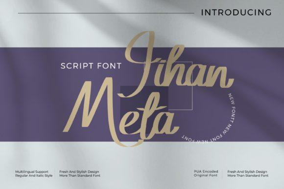 Jihan Meta Font