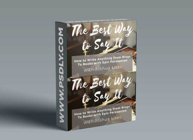 Joshua Lisec – The Best Way To Say It (2021)