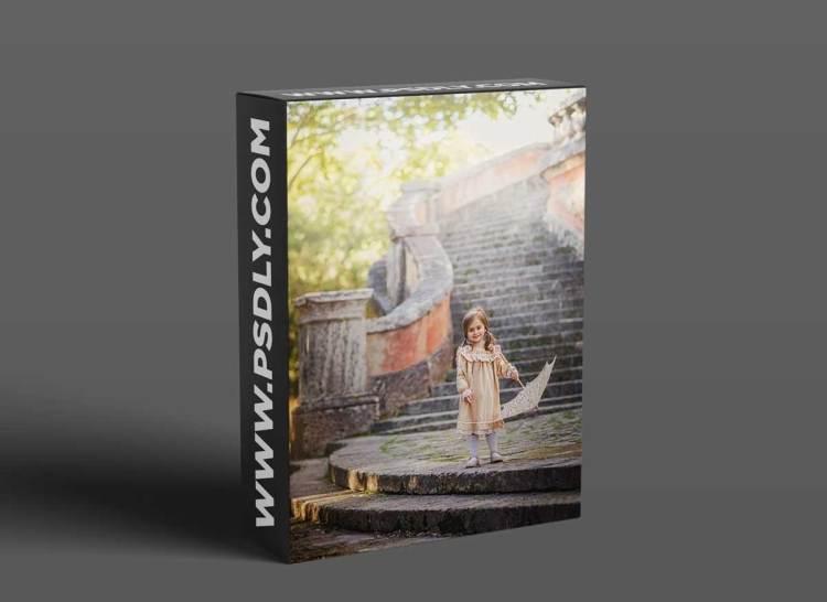Lilia Alvarado - Watch Me Edit Series: Girl With Umbrella