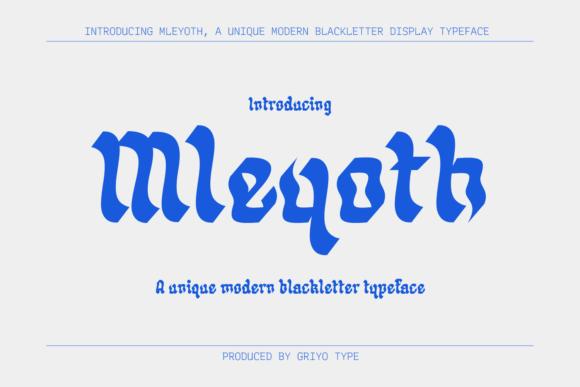 Mleyoth Font