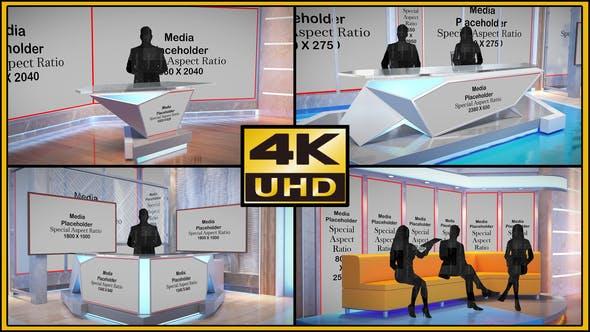 Videohive Virtual Studio Set - S05 33778106