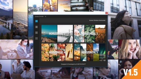 Videohive - Multi Screen Split Divider Extension V1.5 - 29259208