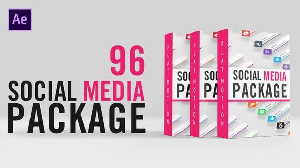 Videohive Social Media Lower Thirds Package 32560460